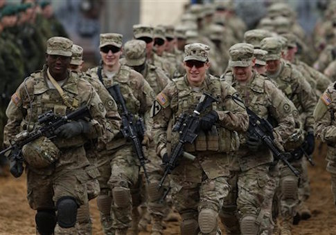 Lithuania Germany US Military Threat