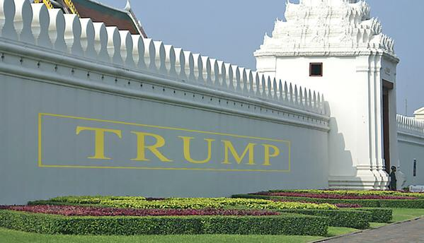Image result for trump & border wall