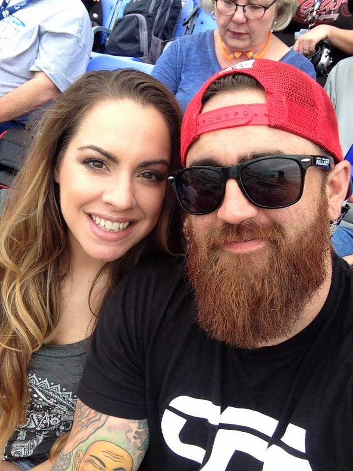 T.J. Antell and his wife, Crystal Antell (Facebook)