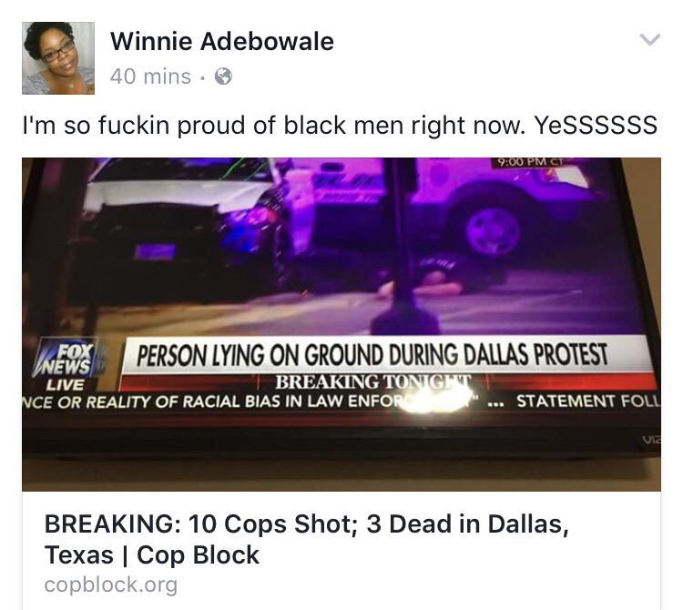 Screenshot Via Facebook