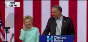 Hillary Introduces Her VP Pick In Miami. First Thing He Does Is Start Speaking Spanish [VIDEO]