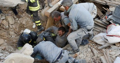 Death toll rises to at least 73 in Italy earthquake