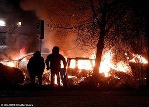 'Trump was RIGHT!' Inside the Stockholm suburbs where cars are torched, drugs sold openly and fire engines must be bulletproof