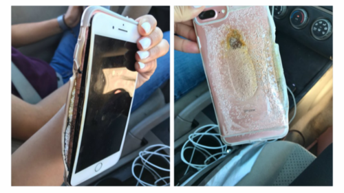 """Caught On Tape: iPhone 7 Spontaneously """"Explodes"""", Apple To Investigate"""