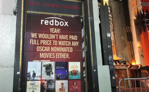 Street Artist Mocks Hollywood 'A**Holes' Unwatchable Movies' with Fake Oscars Posters Around Hollywood