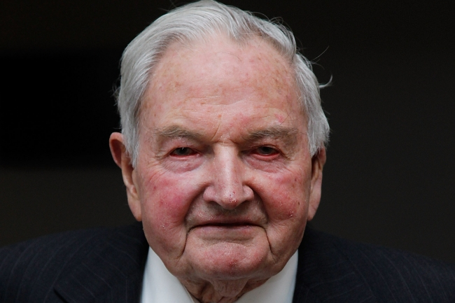 Secret Bilderberg Quote From Rockefeller Thanking The Media By Name For Their Collusion In Creating A New World Order Reemerges After His Death