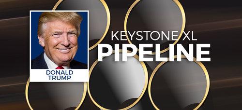 It's Official: Trump Approves TransCanada's Keystone XL Pipeline