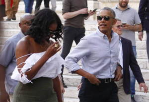 Michelle Obama's CLASSLESS and inappropriate outfit breaks rules for Italian cathedral visit