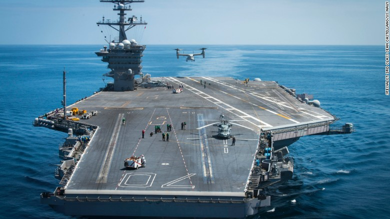 Aircraft carrier CVN-76 Ronald Reagan