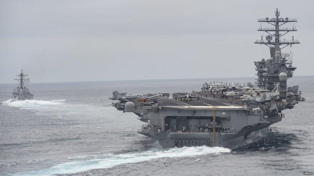 Aircraft carrier CVN-68 Nimitz