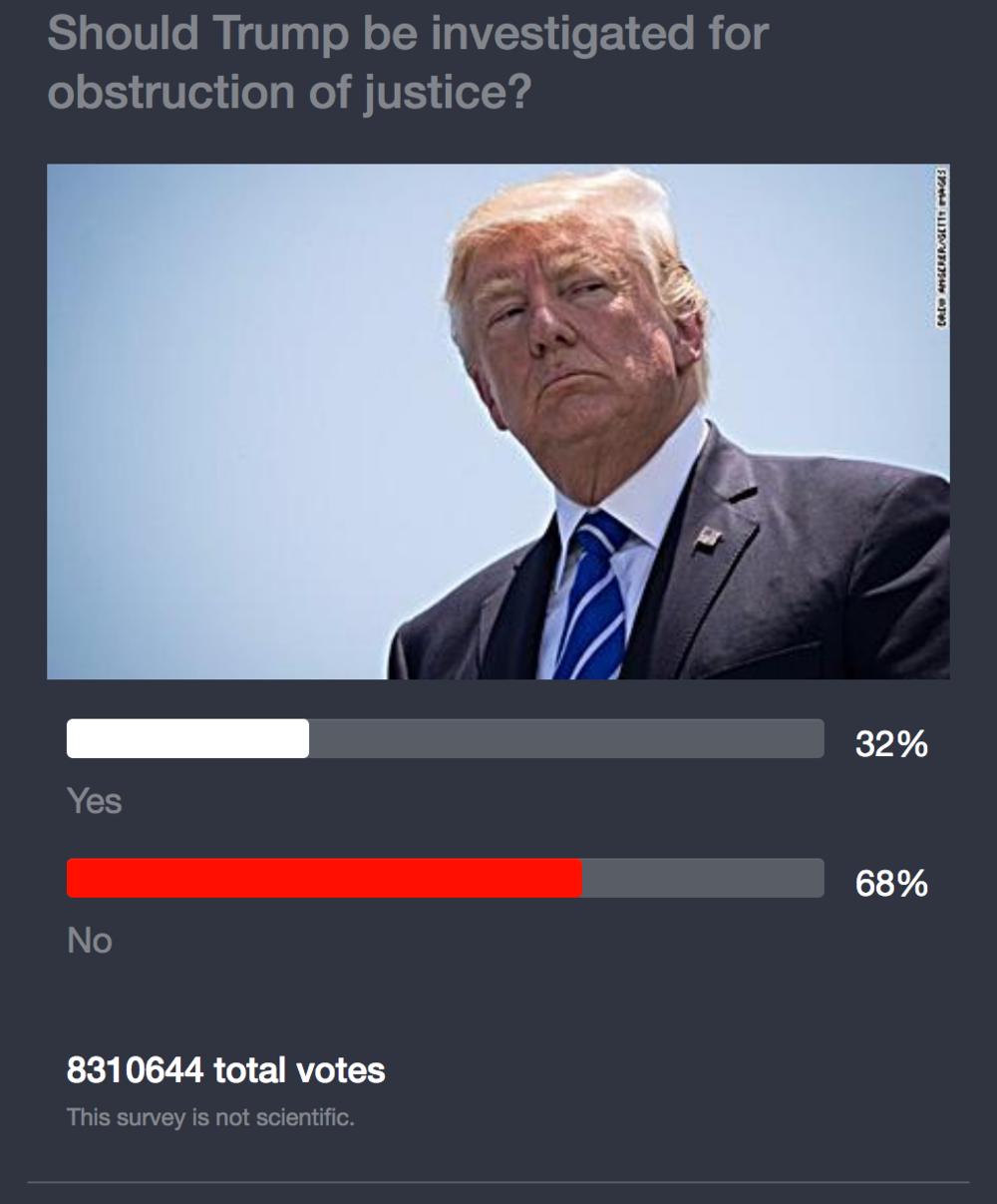Click on image to take poll