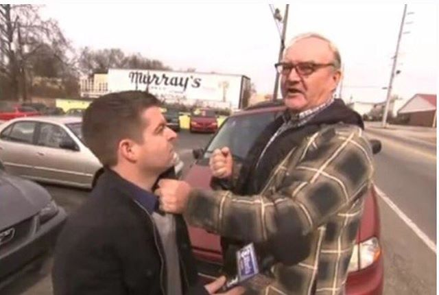 Does a CNN reporter get punched in face after harassing Meme maker's father? Not so fast... (Video) #redflagnews #fakenews #mainstreammedia #cnn