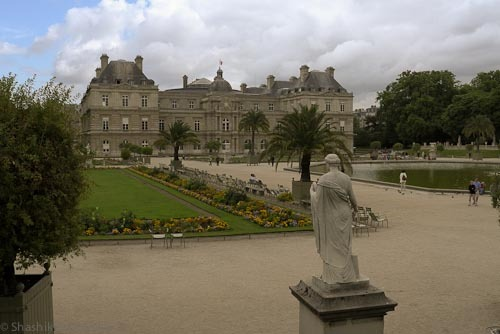 The Senate House in Luxembourg Gardens