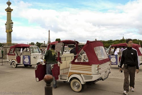 Paris tuk-tuks