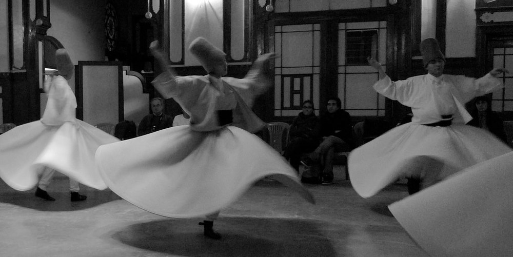 The Dervishes at the Station