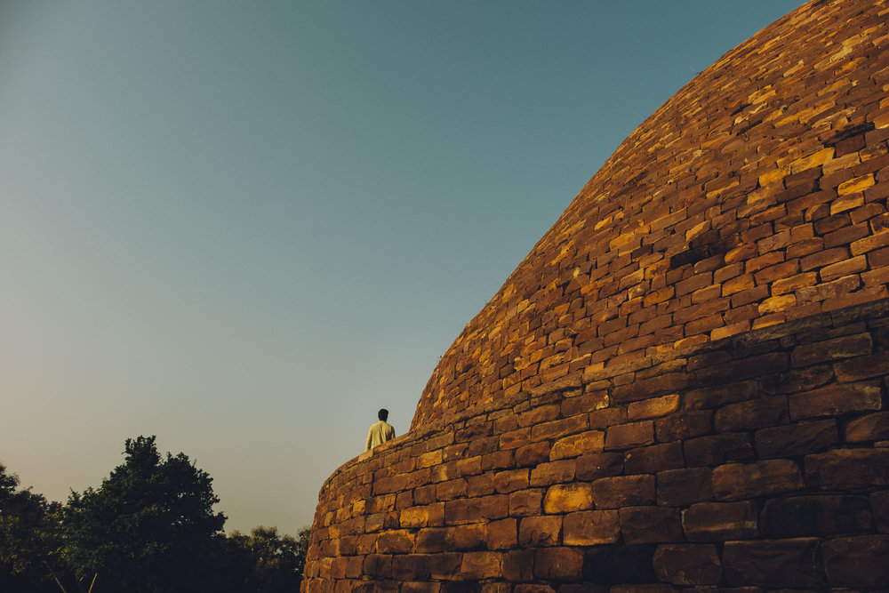 The Largest Stupa at Satdhara