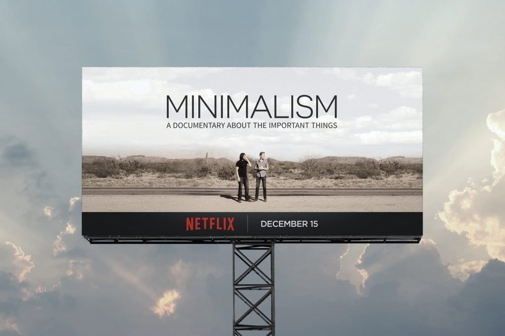 Image from the site of The Minimalists