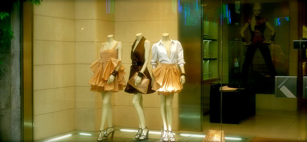 A Fashion Store in Milan, Italy