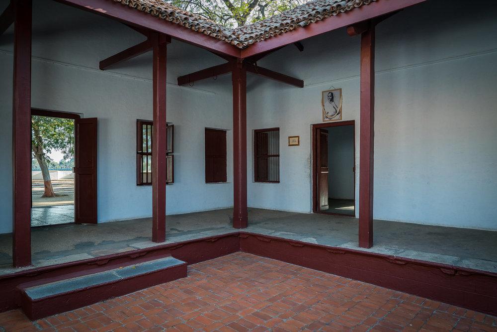 Gandhiji's Ashram in Ahmedabad