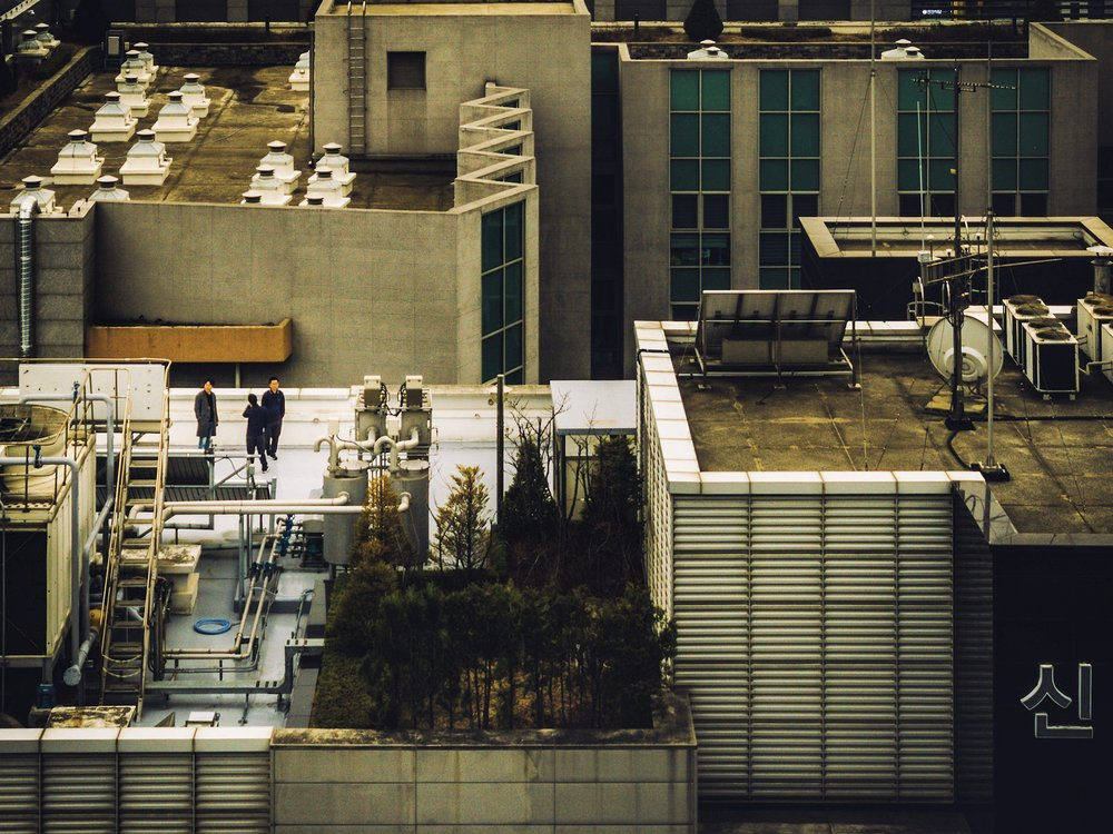 Pangyo, Seoul: View from a guest room, Courtyard Hotel