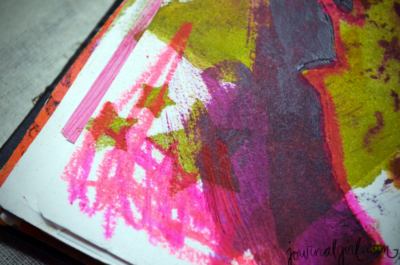(squee! i found neon oil pastels!)