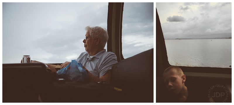 Generations apart on the train ride back to Ancon.  |  Sony A99  f/2.8  1/800  ISO 640,  iPhone 6