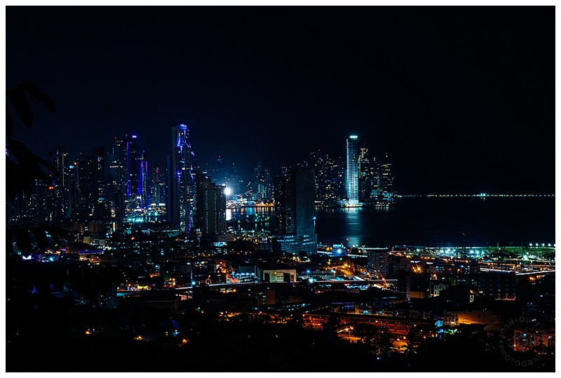"Panama City on final hike up Ancon Hill with my dad and son.   |  Sony A99  f/13  30""  ISO 100"