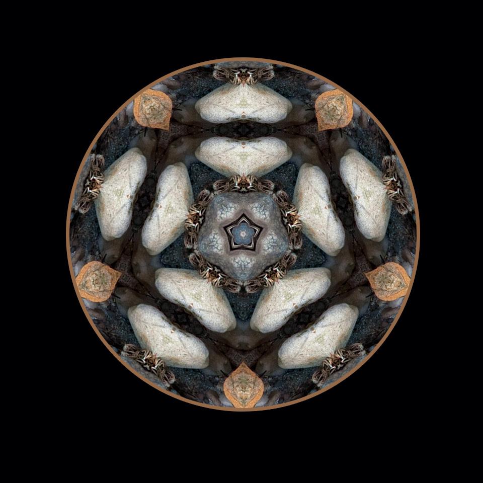 stone pentagram