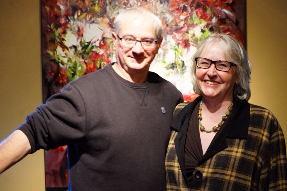 Chester and Trudy of Art-BC
