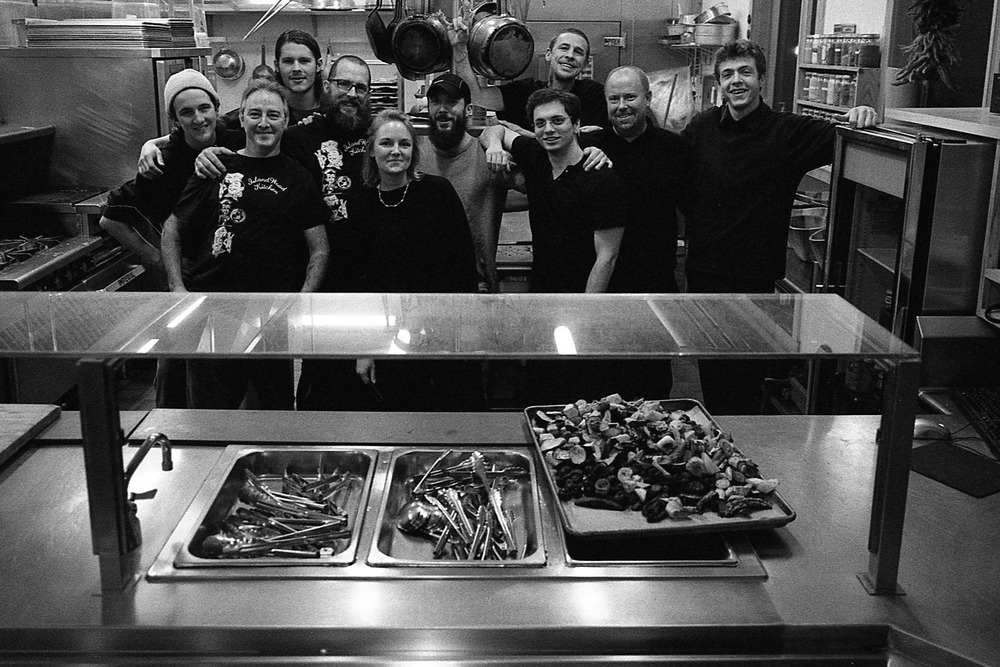 For over two years now, I've been witness to this wonderful team. They always bring an extremely positive energy into the space, and take much care in their preparation of the food, the treatment of the environment, and the treatment of each other. I'm most appreciative to this crew for not only keeping us nourished physically, but emotionally and spiritually as well.