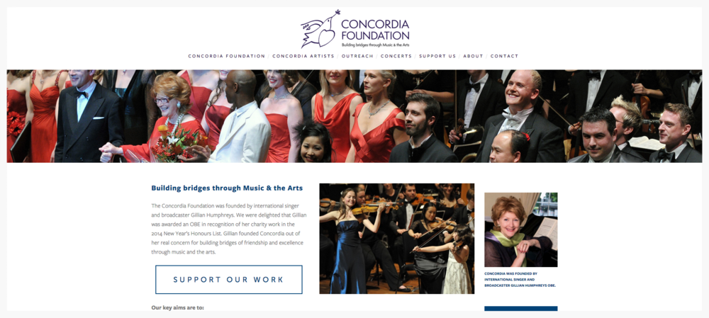 Website Concordia Foundation view project