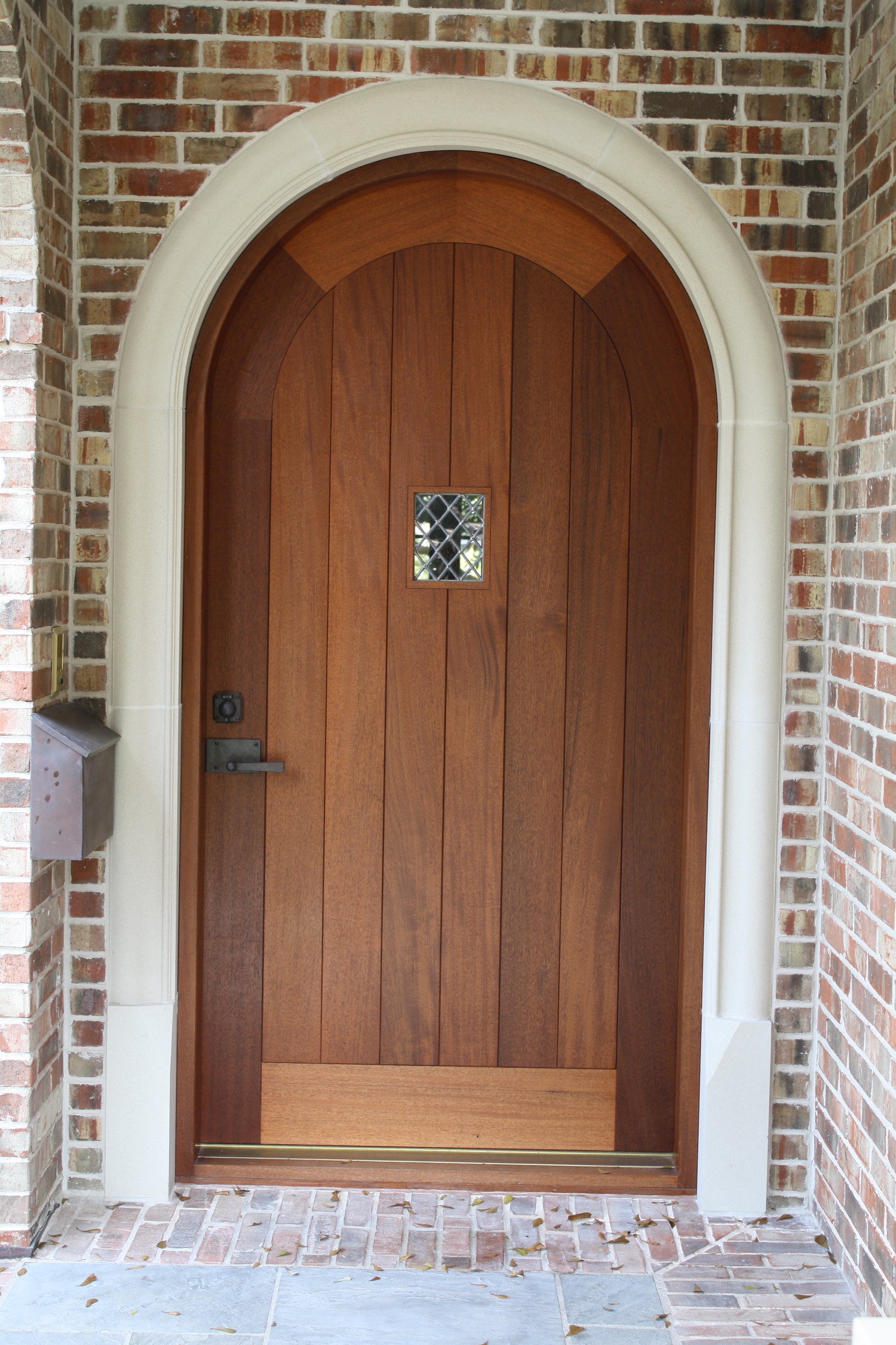 2250 #6C412C Mahogany Entry Door — Clark Kellogg wallpaper Mahogany Doors Houston 46051500
