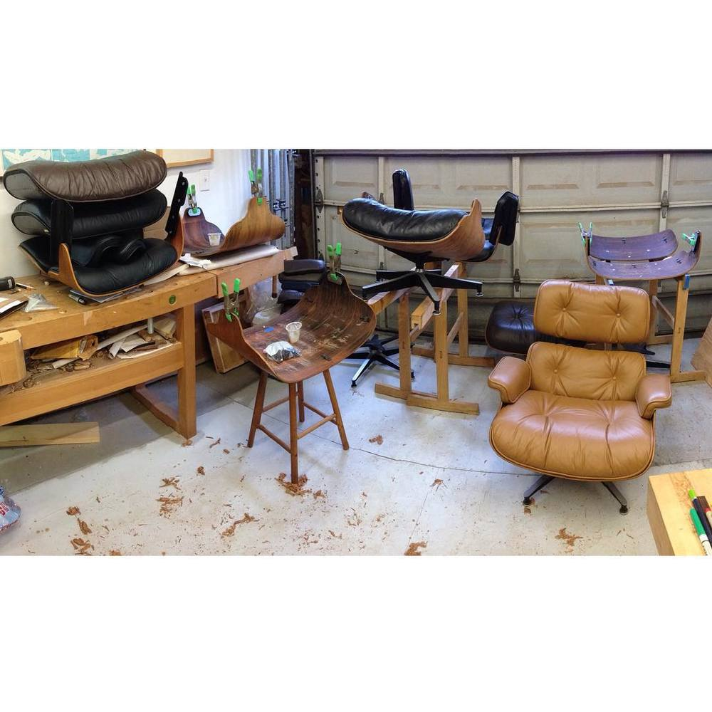 Eames chairs for days. #Eames