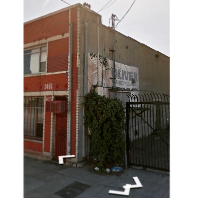 Just spotted on Google street view- a painted sign for Oliver Machinery Company, complete with the mighty Oliver eagle, still standing outside what used to be the Frank E. Jones Machinery Company in LA. It doesn't look as though time has been particularly kind to the building, but it's still cool to see. Hat tip to @dswachs #Oliver217 #easteregg