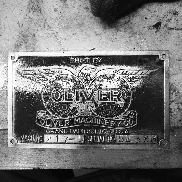 """Built by """"Oliver"""". #Oliver217 #MadeInUSA #GrandRapids"""