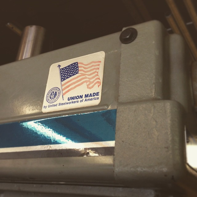 That's right. #MadeInUSA #Clausing
