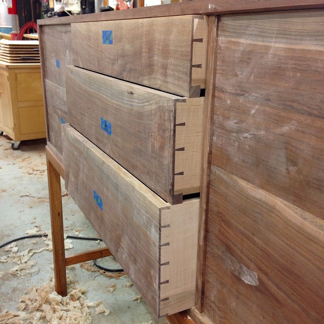 Last three drawers are fit! #letsmakeadresser