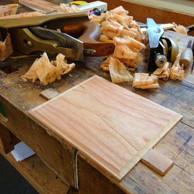 Tiny panel! #letsmakeabox #woodschool