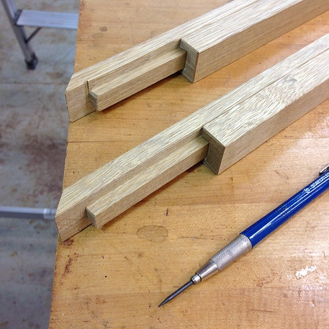 Dovetailed story sticks! #makingthethingthatmeasuresthething