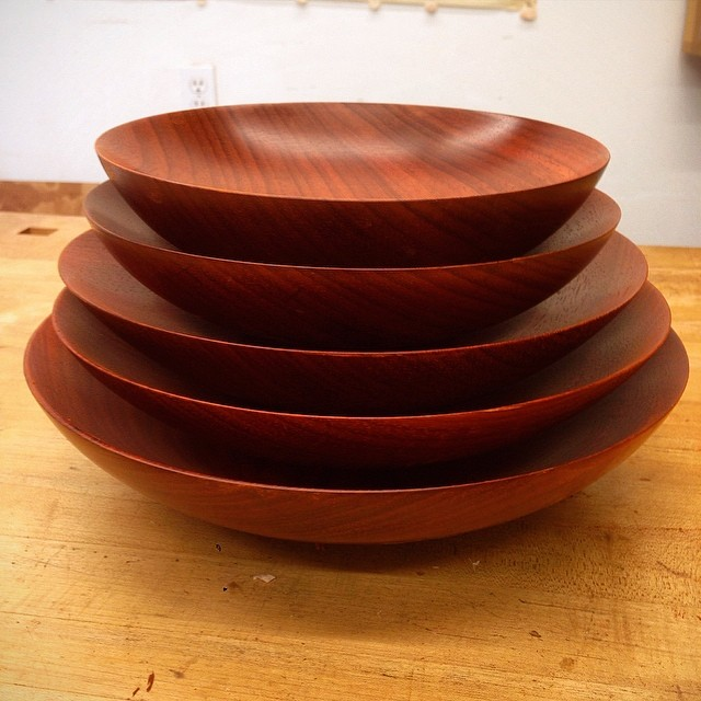 Five down, five to go. #emptybowlshou