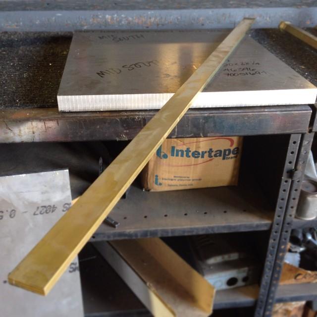 4' of brass Cord Minder stock! #madeinHouston