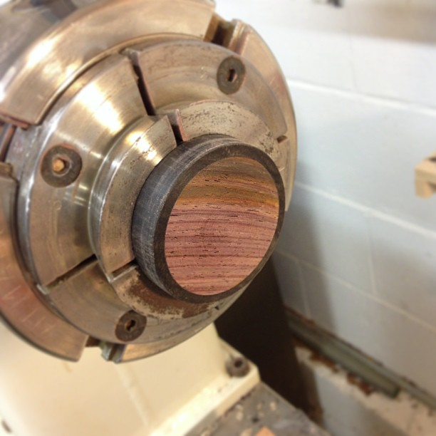 Cocobolo inset for the top.