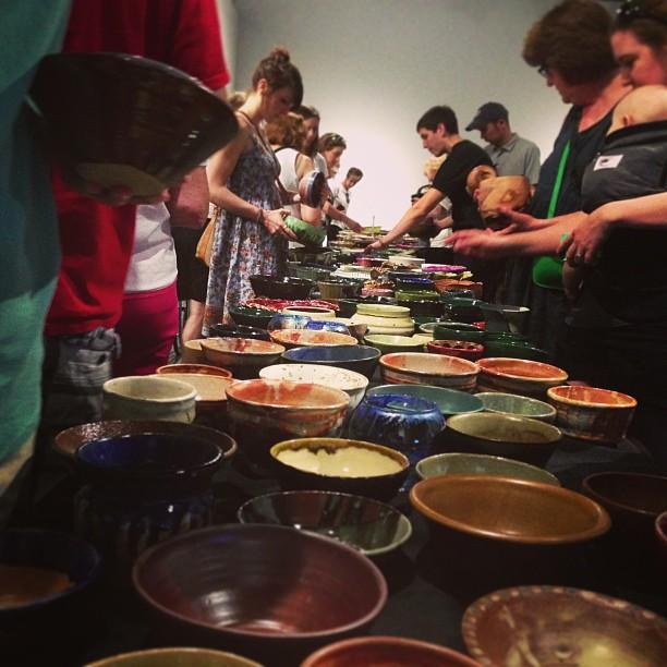 Empty Bowls @CraftHouston!