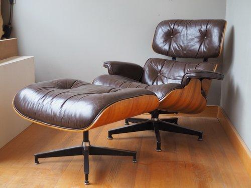 Eames Lounge Chair vintage eames lounge chair ottoman clark kellogg