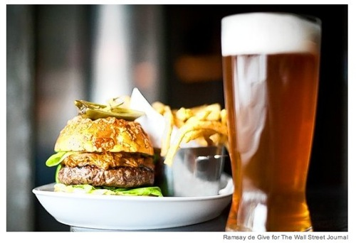 The Art of Picking the Perfect Beer for a Meal  WSJ com