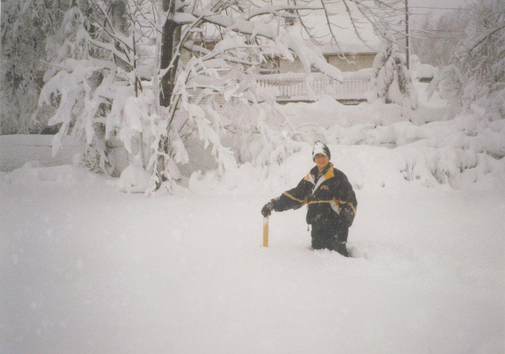 April Fool's Blizzard in Boston