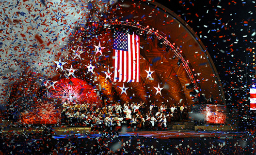 Boston's Fourth of July celebration on the Esplanade