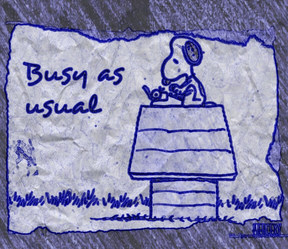 Busy is the new black