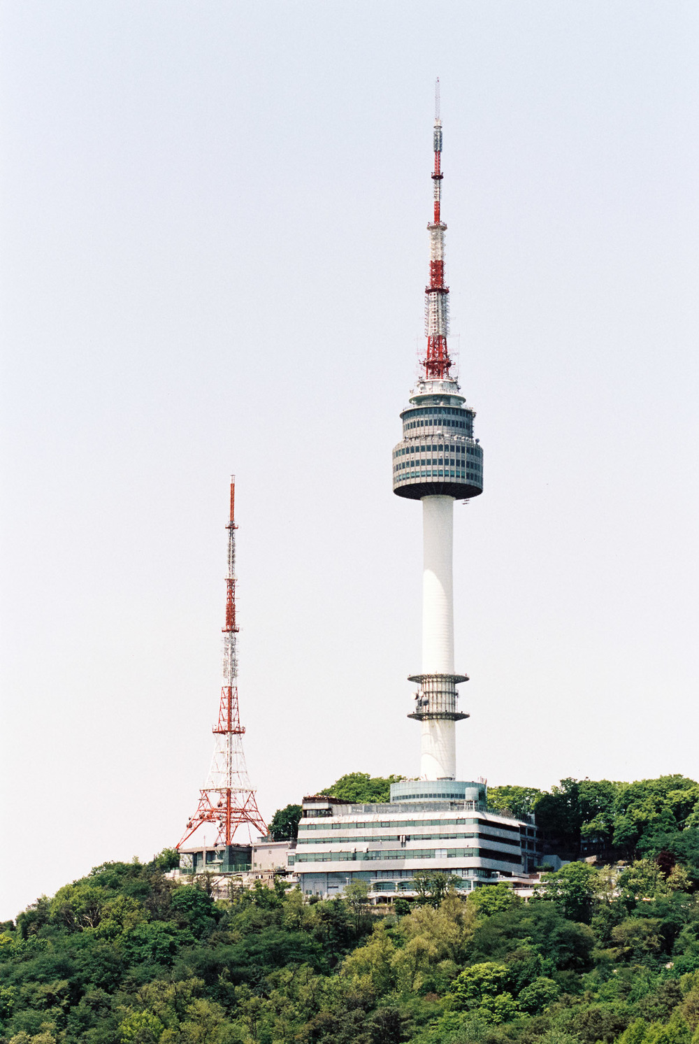 Seoul Tower, Korea - Kodak Portra 400