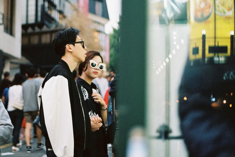 Street style in Gangnam, Seoul-Kodak Portra 400